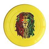 DETED Customize Lion Rasta Hair Flying Disc - Yellow
