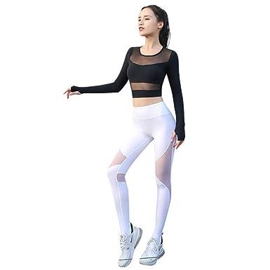 Amazon.com: Lilongjiao Yoga Ropa de Entrenamiento Ropa De ...
