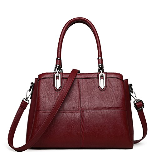 B Messenger En Fashion Bag Bandoulière Capacité à Sac Femmes New Cuir KYOKIM Casual Main Grande à Vintage Des Sac xpvwnUBq
