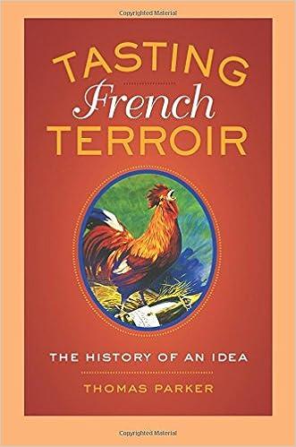 Amazon Fr Tasting French Terroir Thomas Parker Livres