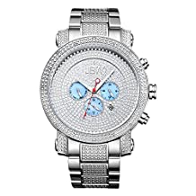 JBW JB-8102-B Men's Chronograph Diamond Watch