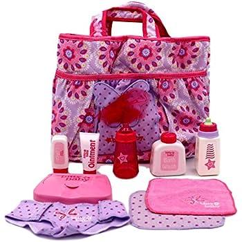 Amazon Com American Girl Bitty Baby Mommy S Diaper Bag
