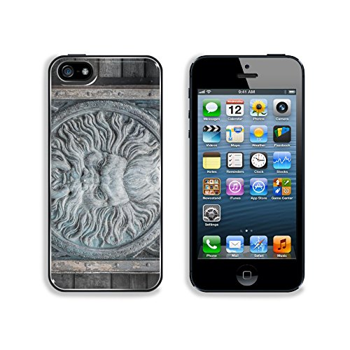 Liili Premium Apple iPhone 5 iphone 5S Aluminum Backplate Bumper Snap Case IMAGE ID 30807097 Ancient wall (Buy Predator Mask)