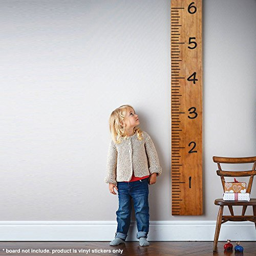 Giant Vinyl Growth Chart Kit Kids Diy Height Wall Ruler