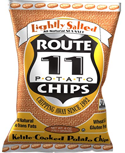 Route 11 Potato Chips : Lightly Salted (6oz, 12 pack)