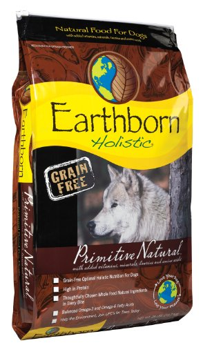 Earthborn Holistic Primitive Natural Grain-Free Dry Dog Food, 28-Pound