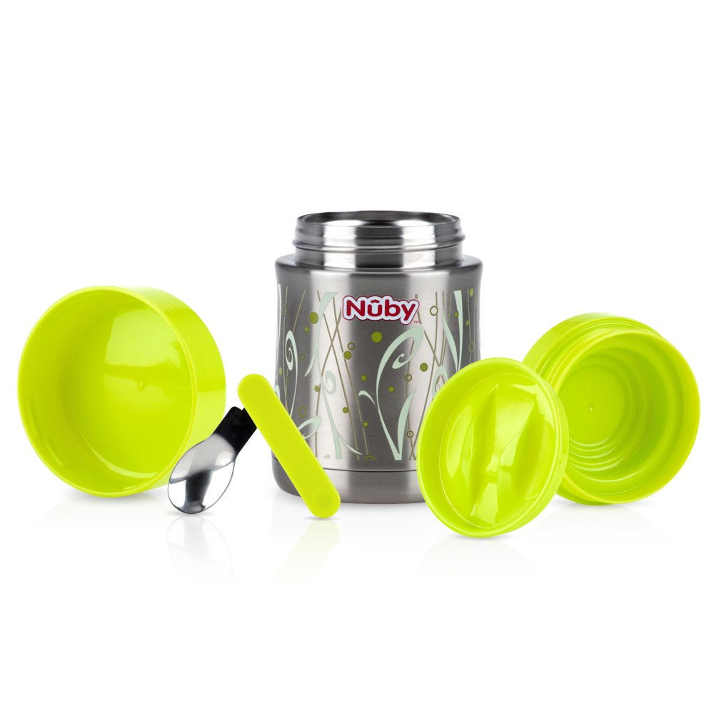 Nuby Stainless Steel Thermos, Colors May Vary by Nuby (Image #2)