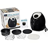 Air Fryer, 8-in-1 Digital Screen, with Recipes, and Deluxe Accessory Kit by Yedi Houseware (5.8QT)
