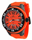 Adee Kaye #AK2230-MIPB Men's Oversized Rubber Strap 100M Sports Watch, Watch Central