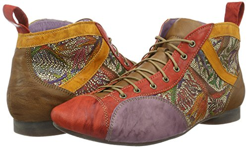 chilli 76 Rouge Think Boots Desert kombi Femme Guad RwxnzBqFH