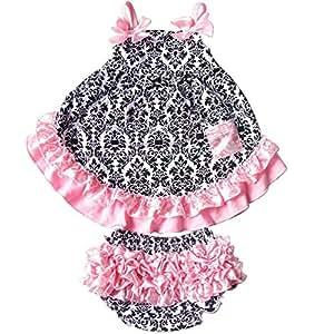 Scarfandbow Baby Clothing Set For Girls