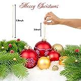 kockuu 200pcs Gold Christmas Ornaments Hanger