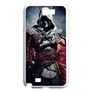 Assassin'S Creed Ii Samsung Galaxy N2 7100 Cell Phone Case White Exquisite designs Phone Case KMJ4JJ1H