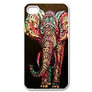 Custom Colorful Case for iPhone 5 5s, Colored Elephant Cover Case - HL-698133