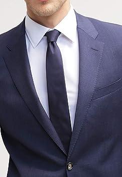 Pier One Camisa de Hombre de Manga Larga Fina en Blanco, Talla L ...