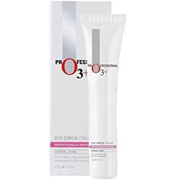 O3+ Eye Circle Cream - Brightening & Whitening for Dark Circles, Finelines  and Puffy Bags, 15g