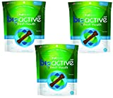 3 Pack of Fruitables 15 Count BioActive Fresh Mouth Dental Chews, Small/7.3 oz Each