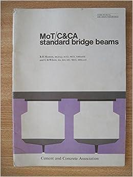 MoT/C&CA standard bridge beams: Amazon co uk: B H Manton and