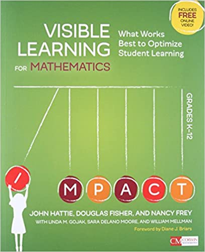 Amazon Visible Learning For Mathematics Grades K 12 What