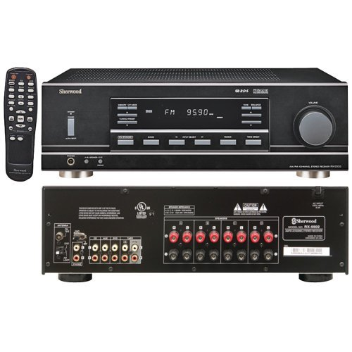 Sherwood Rx-5502 Multisource Dual Zone A/V Receiver by Sherwood