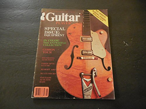 Guitar Player May 1982 Entwistle Collection; Gibson Tour; Fiber Optic