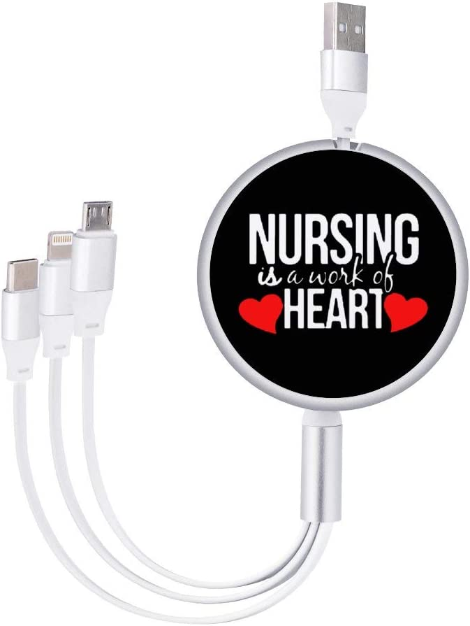 Circular Data Line Nursing is A Work of Heart1 Beautiful and Multifunctional Mobile Phone Data Cable