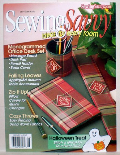 (Sewing Savvy magazine - September 2002 - Vol. 3, No. 5 (Ideas For Every Room))