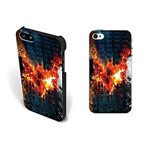 Uniuqe Fashion Glitter Beauty For Iphone 6Plus 5.5Inch Case Cover Cool Fire Bats Custom Hard Plastic For Iphone 6Plus 5.5Inch Case Cover Case Skin Personalized for Girls.