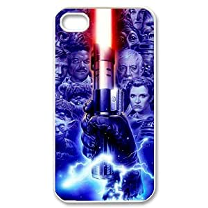 C-EUR Customized Print Star War Pattern Back Case for iPhone 4/4S by runtopwell