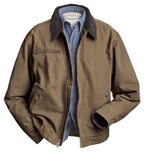 DRI Duck Men's Outlaw Jacket (Field Khaki, XXX-Large) ()