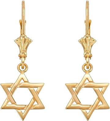 Jewish Stars Earrings