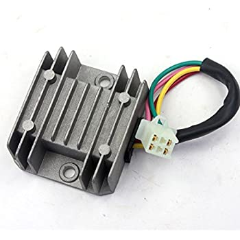 wingsmoto rectifier regulator 4 wires voltage. Black Bedroom Furniture Sets. Home Design Ideas
