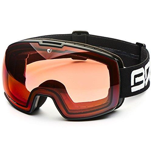 Briko nyira 7.6P1, lunettes de protection Unisexe–Adulte, a32matt/Black/P1, Taille unique