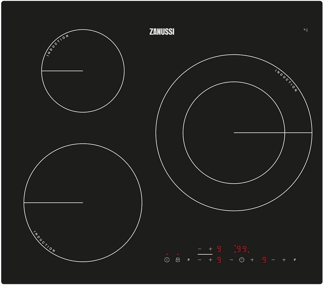 Zanussi VITROCERAMICAS, Negro, 59 x 52 x 60: 263.38: Amazon.es ...