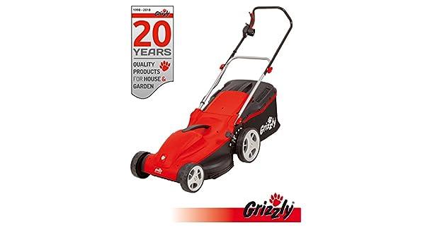 Grizzly eléctrico Cortacésped EM 1744 HW Power Motor 1700 W 44 cm ...