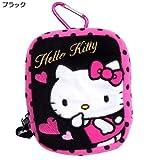 [Hello Kitty]Carabiners pouch dot wristlet RIP porch black