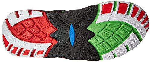 Colori verde Mbt nero Uomo Fuoco 16 Lime Da Zee Scarpe M Running Diversi rosso 87z8qrx