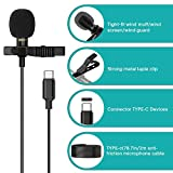 Professional Type-C Lavalier Lapel Microphone for