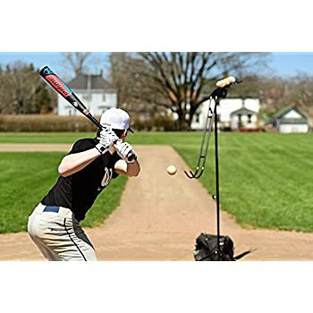 Image of Batting Trainers Louisville Slugger Apex Soft-Toss Tee Training System (L60208)