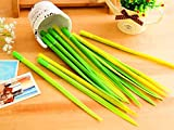 New Novelty Grass Leaf Pen Grass blade Pen Office School Student Supplies Gift .