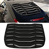 Automotive : Fits 2009-2017 Nissan 370Z IKON Style Rear Window Louvers Cover Sun Shade ABS
