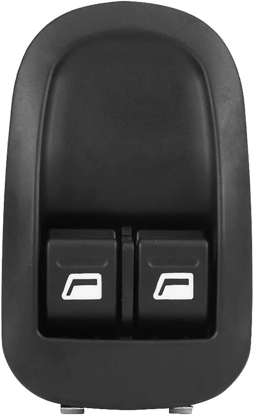 Car Vehicle Auto Electric Power Front Window Control Switch 6554WQ Power Window Switch for 206 98-10