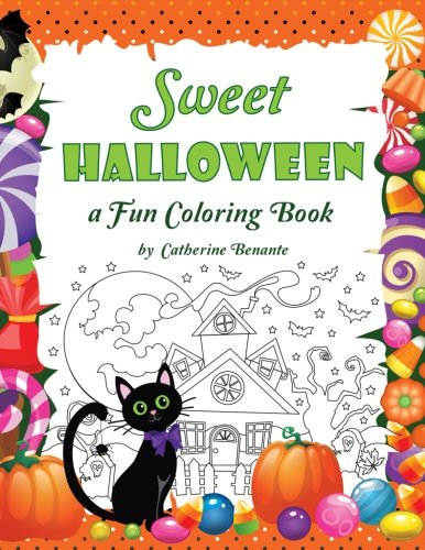 Sweet Halloween: A Fun Coloring Book (Coloring Journeys) (Volume -