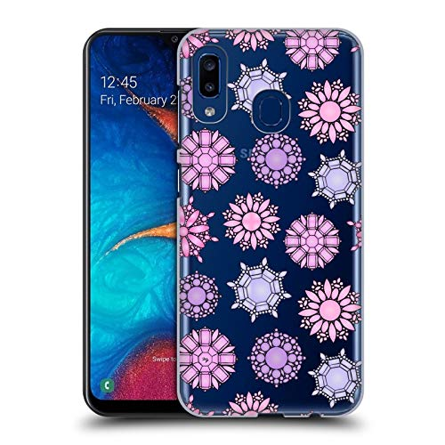 Official Martina Illustration Jewelry Girly Patterns Hard Back Case Compatible for Samsung Galaxy A20 / A30 (2019)