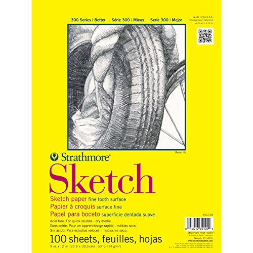 Strathmore Sketch Spiral Paper Pad 14