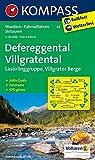 Defereggental - Villgratental - Lasörlinggruppe - Villgrater Berge: Wanderkarte mit Aktiv Guide, Panorama, alpinen Skirouten und Radrouten. GPS-genau. 1:50000 (KOMPASS-Wanderkarten, Band 45)
