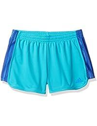 Adidas Big Girls' the Block Short Withdrwcord