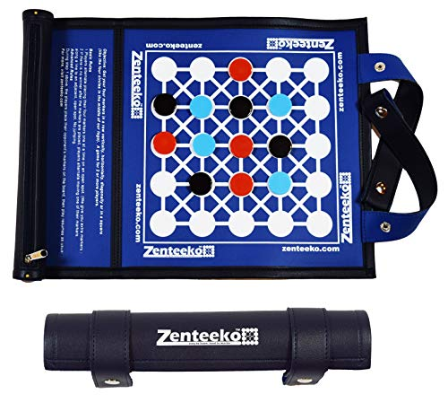 Zenteeko Roll-Up Abstract Strategy Board Game for 2 or More Players ()