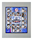 Encore Select 920-30 MLB New York Yankees Double Matted Sports Memorabilia, 11-Inch by 14-Inch