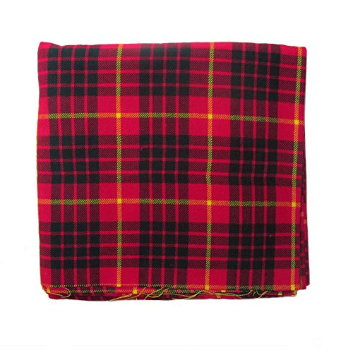 Cameron Tartan Cloth/Fabric/Material 106 x 53 inches